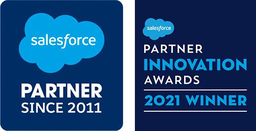salesforce partner and partner innovation awards 2021 winner